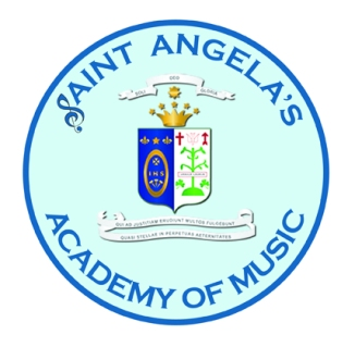 St. Angela's Academy of Music logo